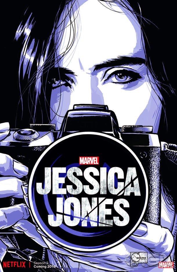 Jessica Jones 2 - coming in 2018 https://t.co/0ulerTz83T