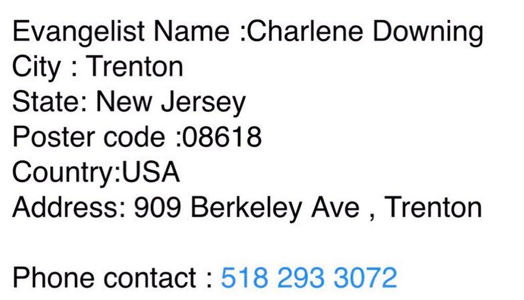Adresse usa fake FakeMail