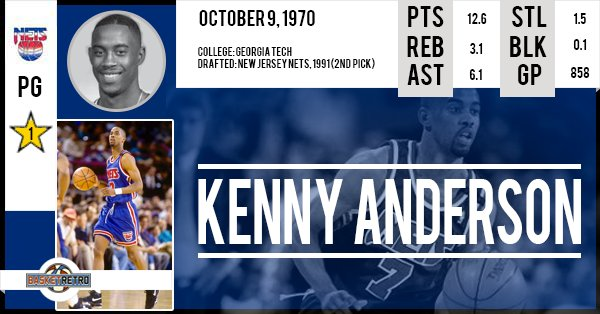 Happy birthday Kenny Anderson