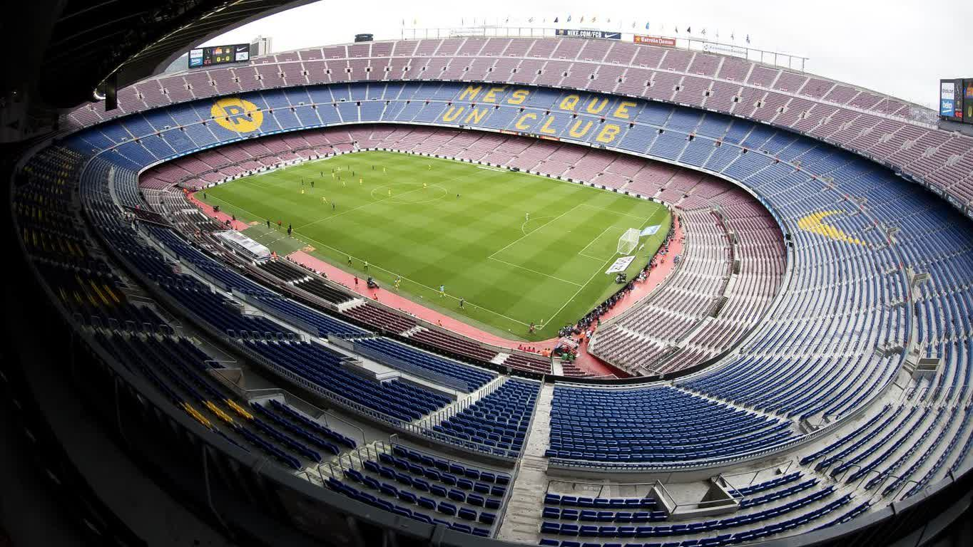 ⚽️ The Camp Nou as you have never seen it before during a Barça match https://t.co/OJ3j5QzsTQ