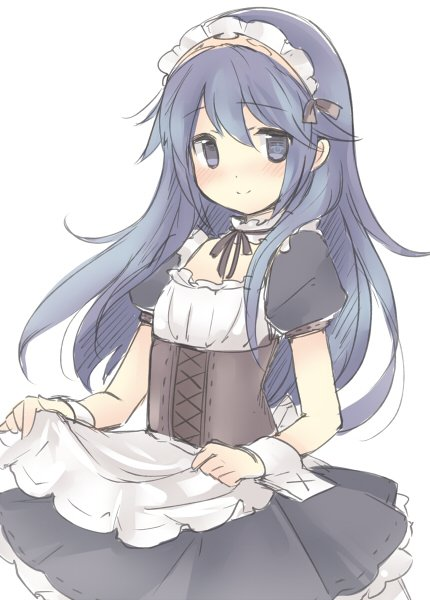 Rt Your Lucina On Twitter Lucina A Cute Maid For Maidmonday