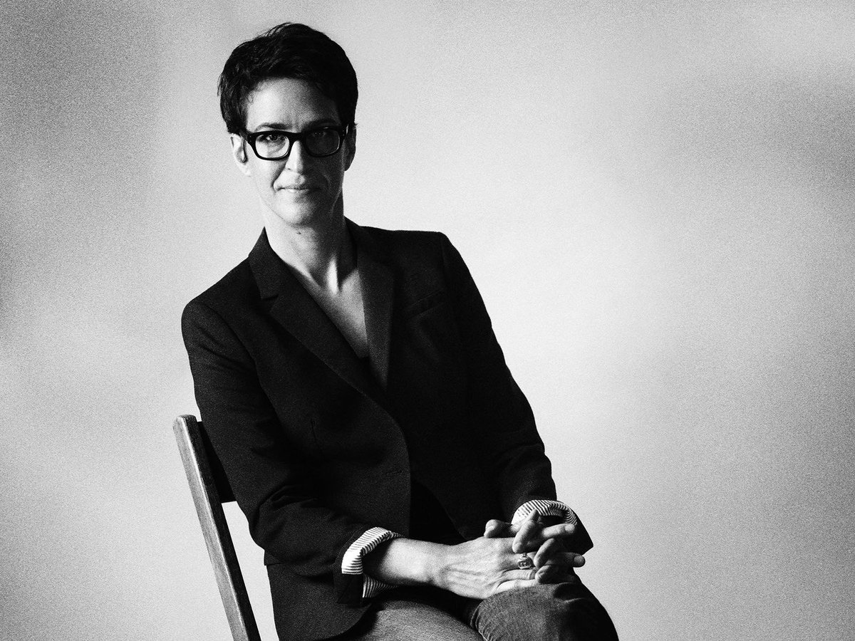 The New Yorker On Twitter Rachel Maddow On Her Process Love At