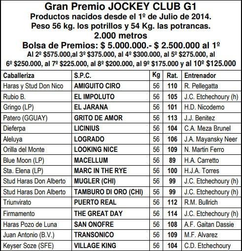 GRAN PREMIO JOCKEY CLUB (G1) 2017 DLKN0fhXoAISg45