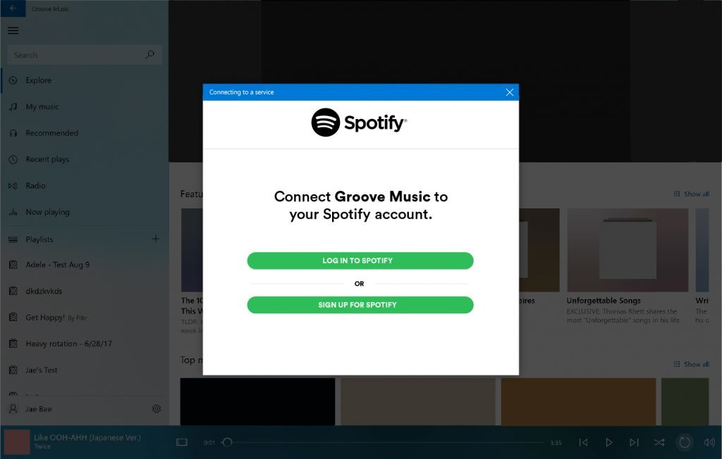 Live streaming music