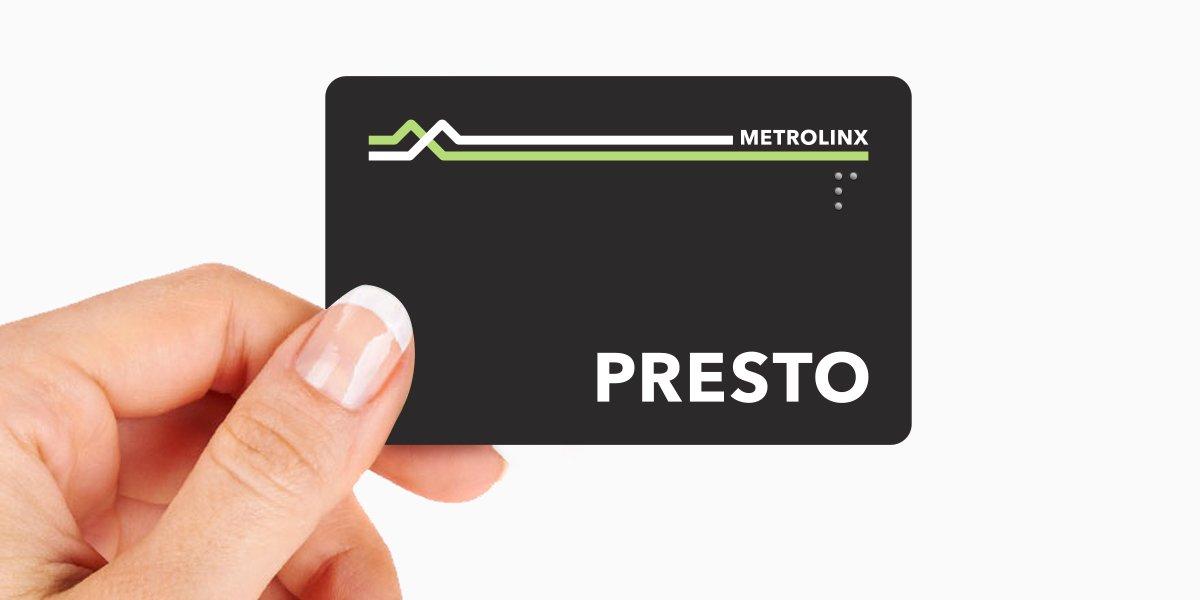 Presto Card New Branding
