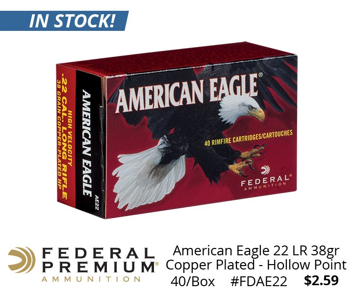 graf and sons on twitter in stock now american eagle 22lr ammo