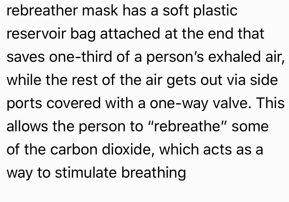 What's different between non-rebreathing mask and partial breathing mask ?  #PSMCHS #uod #RESPIRATORY_CARE #Respiratory_care #Inayacollege<br>http://pic.twitter.com/EvsHpY28oe