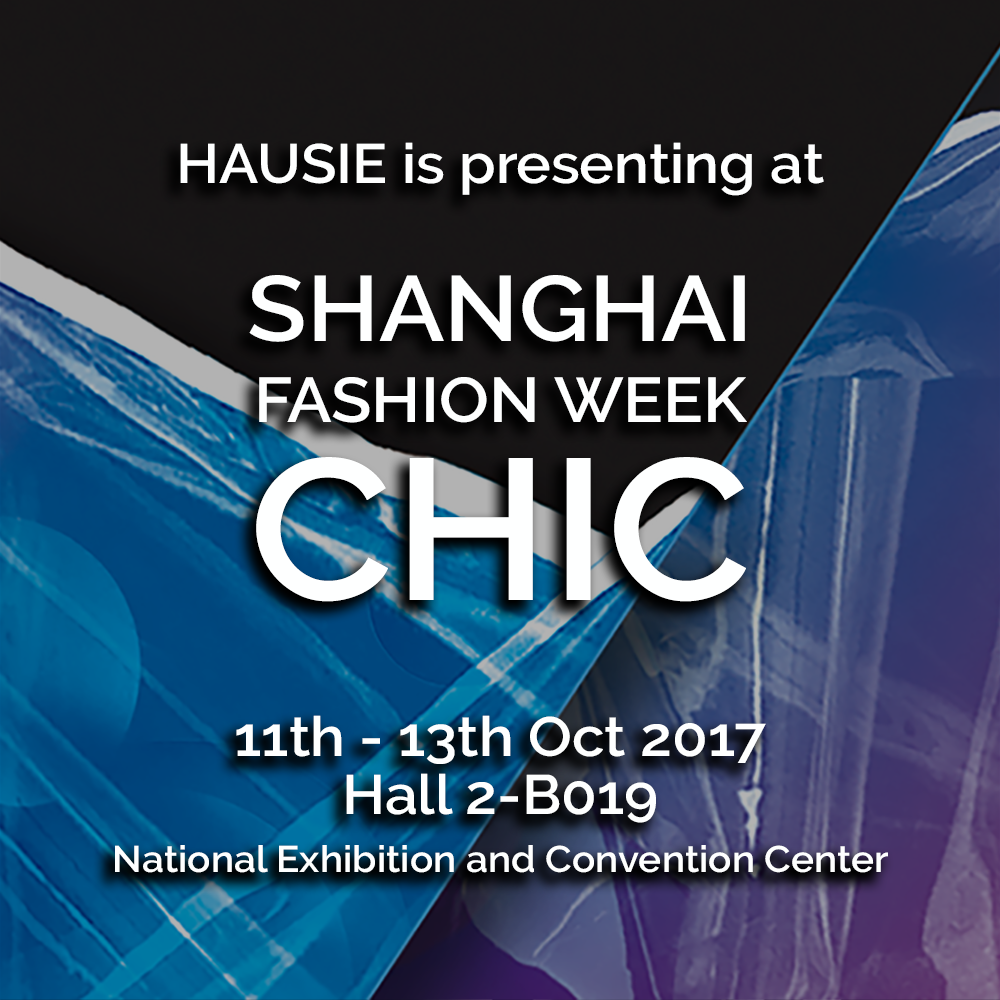 Next week, HAUSIE will be participating Shanghai Fashion Week with CHIC  #tradeshow #ss18 #shanghaifashionweek #chic #chicshanghai https://t.co/lmIllAo1E5