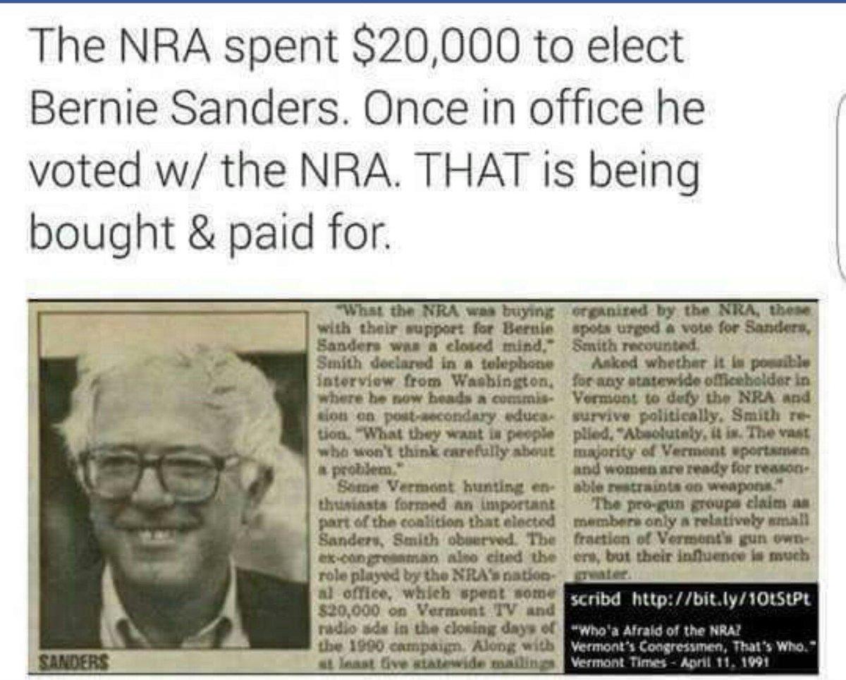 Whores Bernie