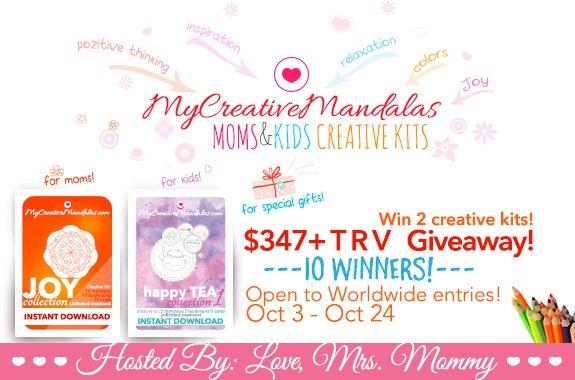 10 #WINNER #GIVEAWAY #Win a My Creative #Mandalas #Mom &amp; #Child #Coloring Kit @Love_MrsMommy  http:// bit.ly/2kiJLBA  &nbsp;  <br>http://pic.twitter.com/cwHAXc033x