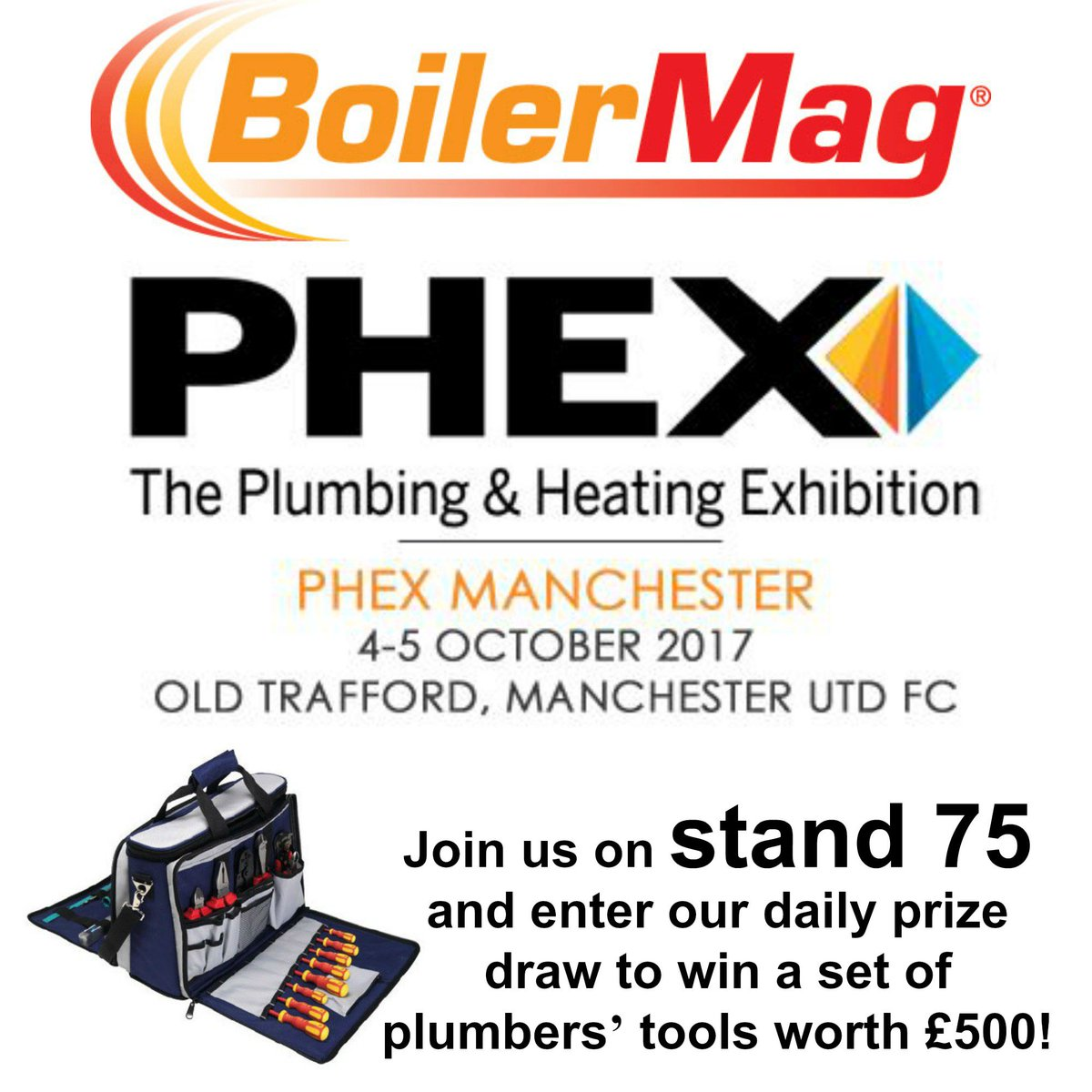 Boilermag On Twitter Join Us At Phexshow Manchester Tomorrow And Hvac Drawing Tools Thursday Phex Plumber Tuesday Heating