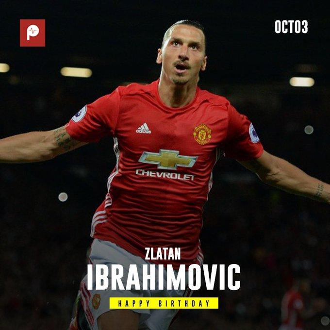 Happy Birthday to the King, Zlatan Ibrahimovic