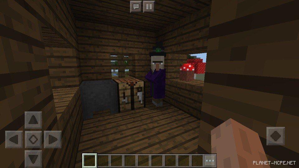 как найти дом ведьмы в майнкрафте 1.12.1 #8