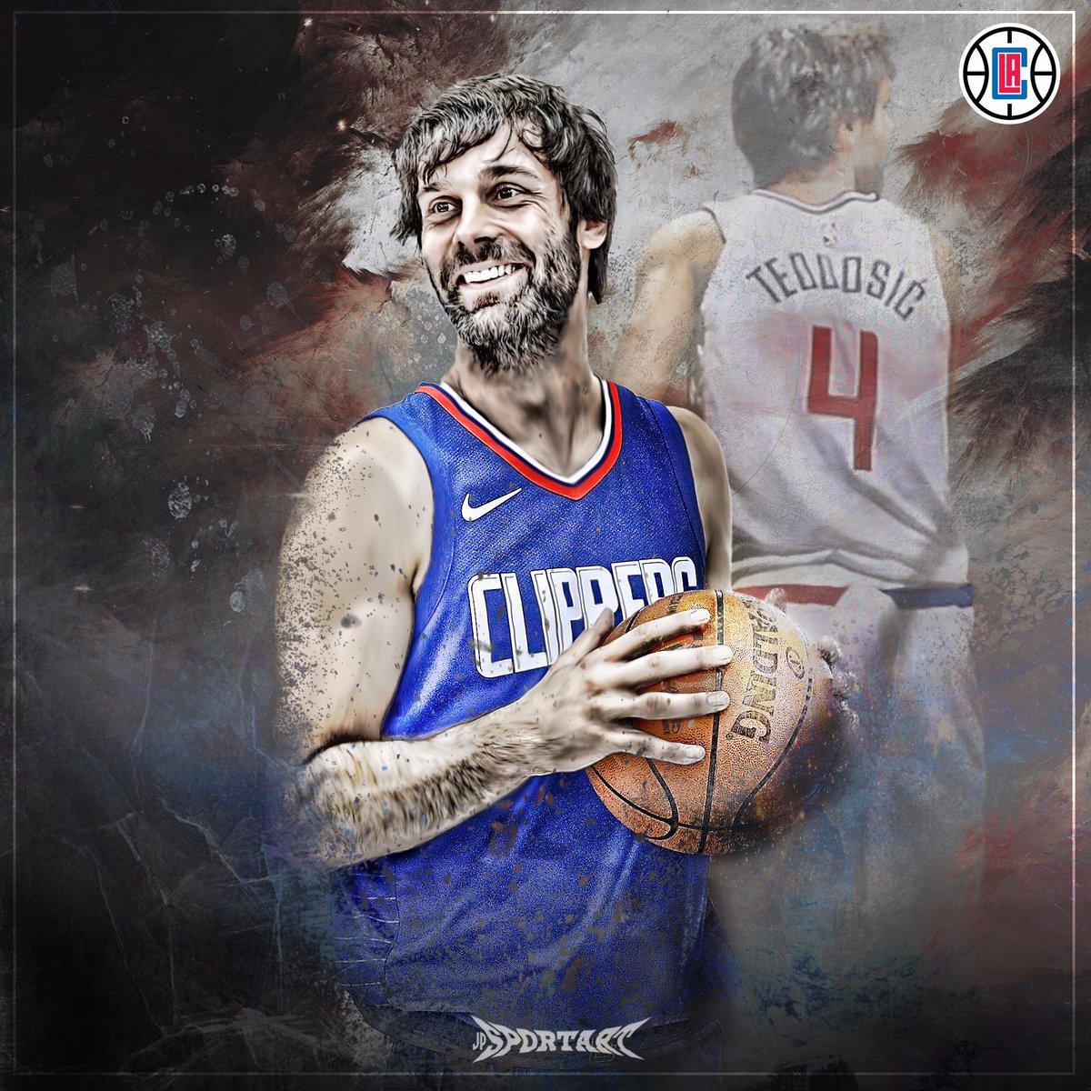 New Era! #Teodosic #Clippers #clippernation #NBA #artwork https://t.co...
