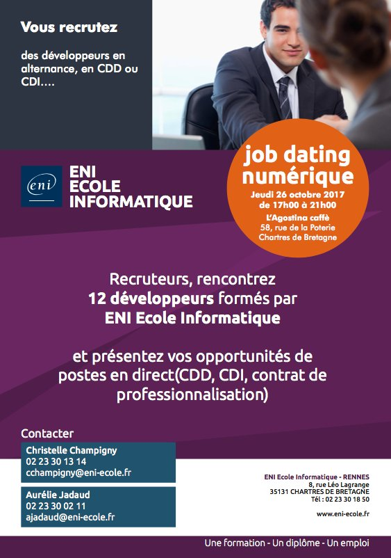 Job dating alternance rennes
