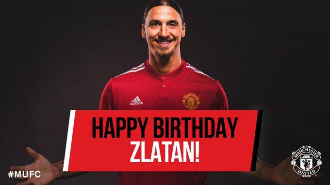 Happy 36th Birthday, Zlatan Ibrahimovic!