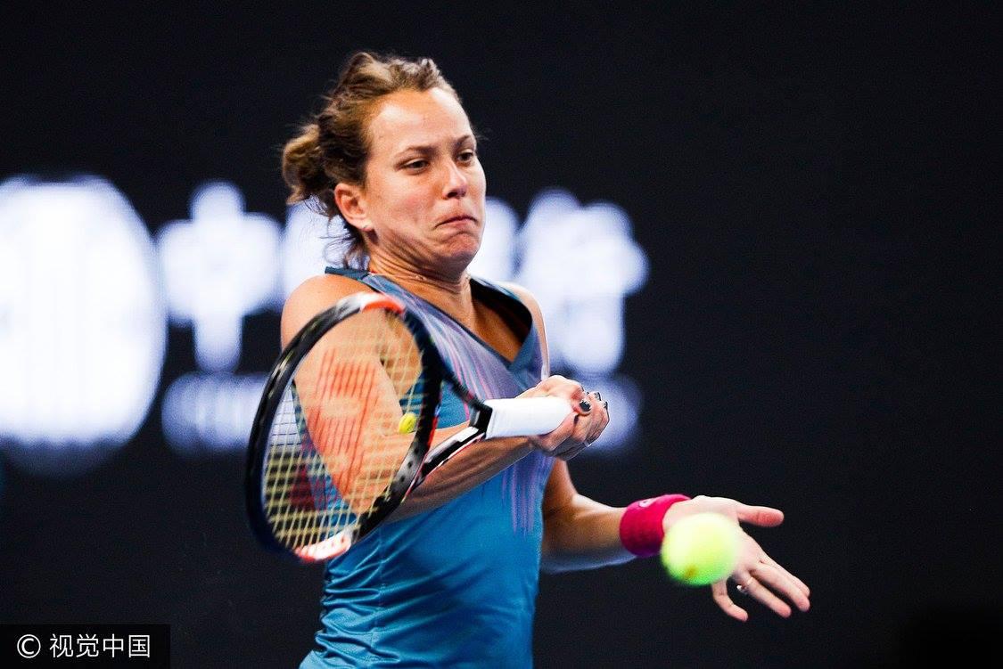 Strýcová si letos i potřetí poradila s Görgesovou; © China Open
