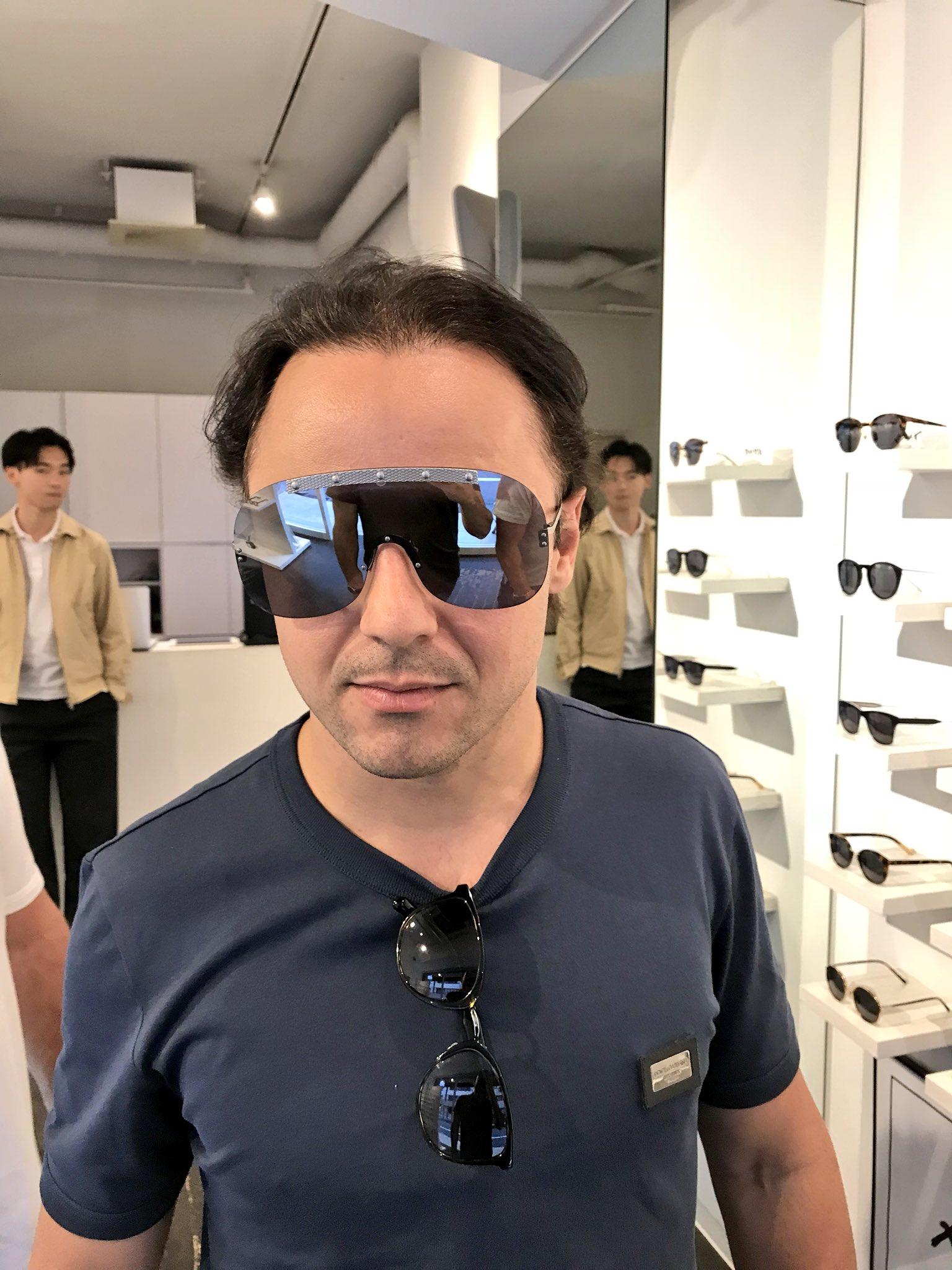 新しいサングラス @MassaFelipe19 ���� shopping sunglasses in Tokyo https://t.co/RgzDrAX0EX