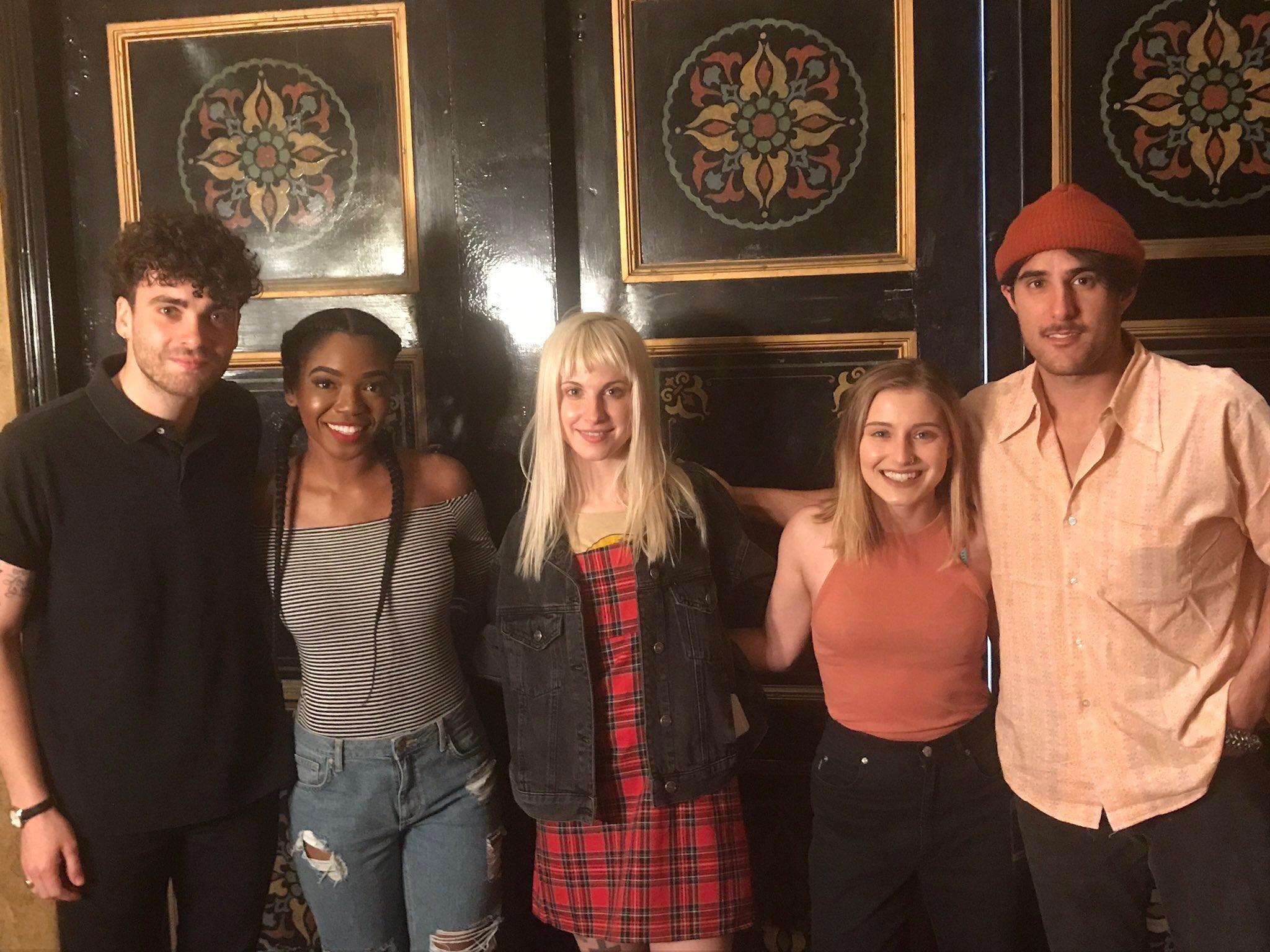 Paramore Meet & Greet with fans in Atlanta, GA! https://t.co/8U2GufLFod