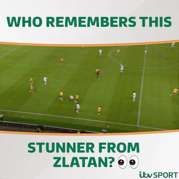 LEGEND: When Zlatan Ibrahimovic produced THAT goal v     Happy Birthday  (