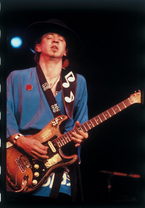 I hit rock bottom, but thank God my bottom wasn\t death.  Stevie Ray Vaughan Happy Birthday and RIP