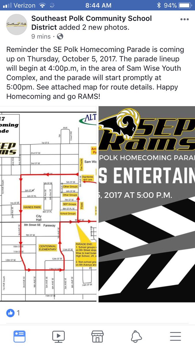 "SEP Wrestlers: Lets ""Morrow Mile"" Homecoming Parade to celebrate 7 State Titles & mindset for more. Be @ Sam  Wise in Altoona @4 pm Thursday https://t.co/2Ts8WB0LEl"