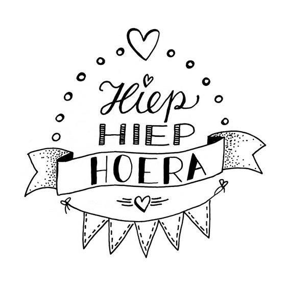 Kleurplaat Verjaardag Slingers Biebmiddendrenthe On Twitter Quot Hiep Hiep Hoera Workshop