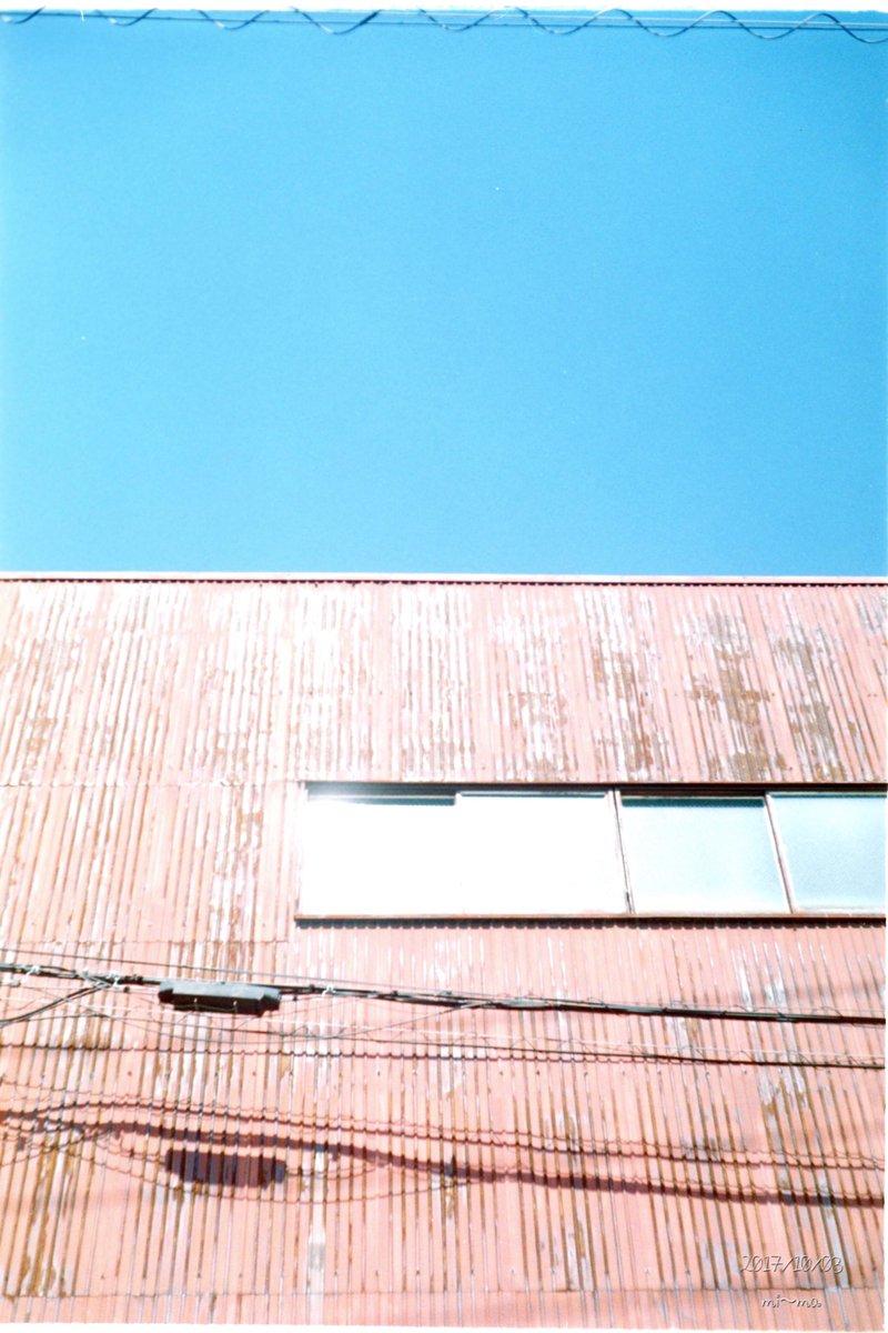 ローライの青が好き  #film #フィルム #フィルデジ #rolleiB35 #filmphotography