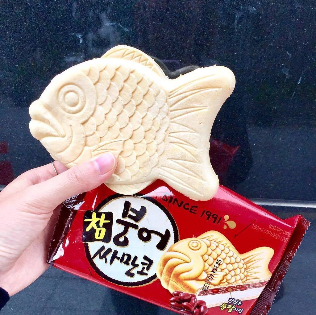 Inspire Me Korea On Twitter Fish Shaped Yummy Ice Cream It S