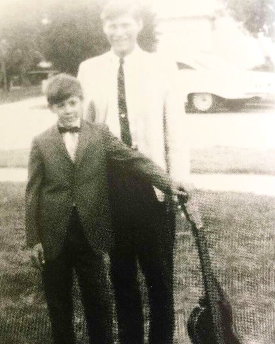 Happy Birthday Stevie Ray Vaughan here with his Dad