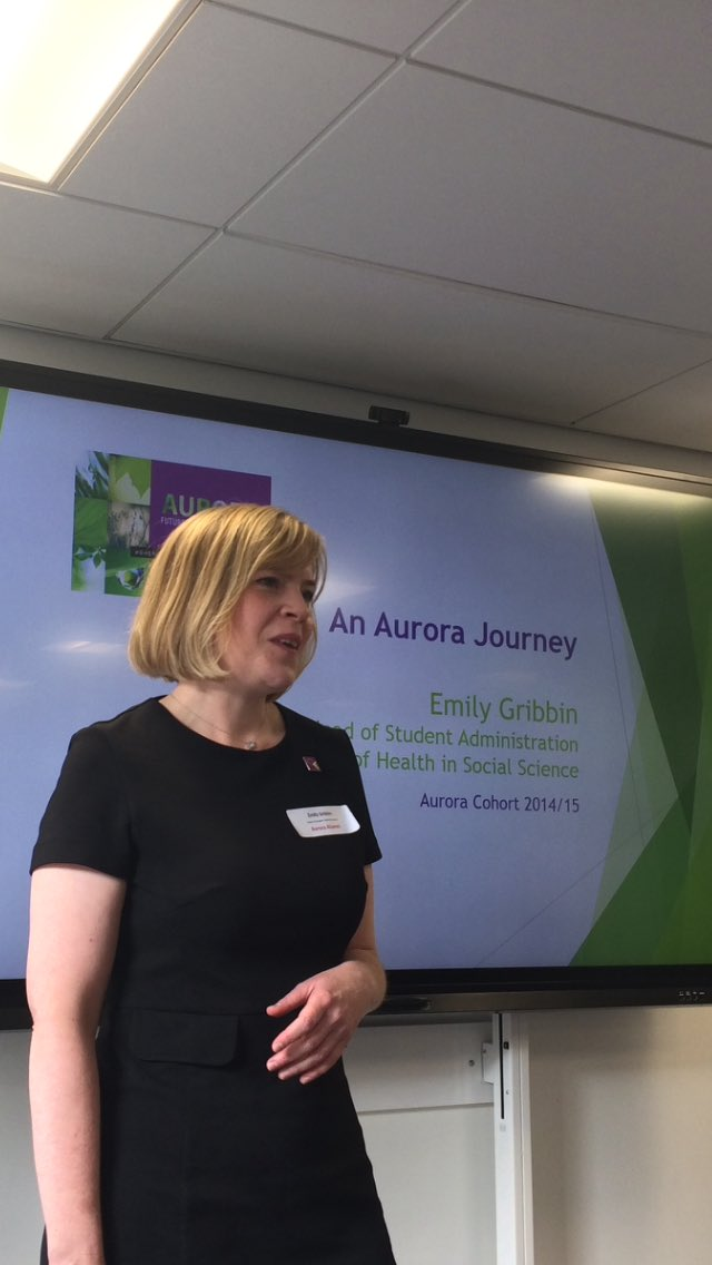 Emily Gribbin Aurora Alumni shares her personal journey #LFAurora &amp; its positive benefits #LFLead <br>http://pic.twitter.com/bJiXL2xWd0