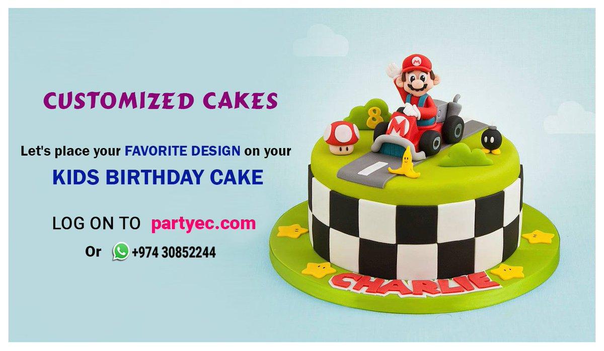 Marvelous Partyec On Twitter Order Customized Cake Online In Qatar Funny Birthday Cards Online Benoljebrpdamsfinfo