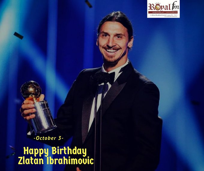 Happy birthday to the King of Old Trafford, Zlatan Ibrahimovic We celebrate you!