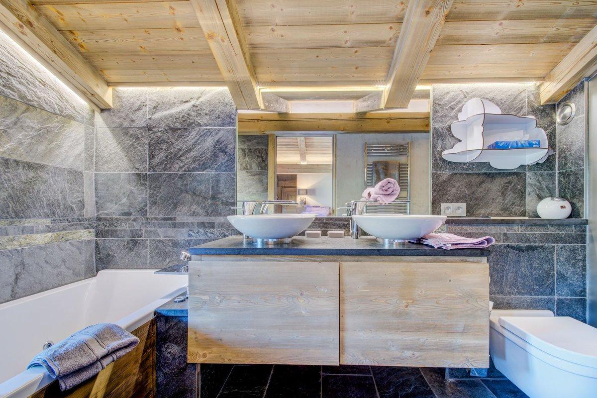 "Salle De Bain Chalet cimalpes ski on twitter: ""la salle de bain #cocooning du"