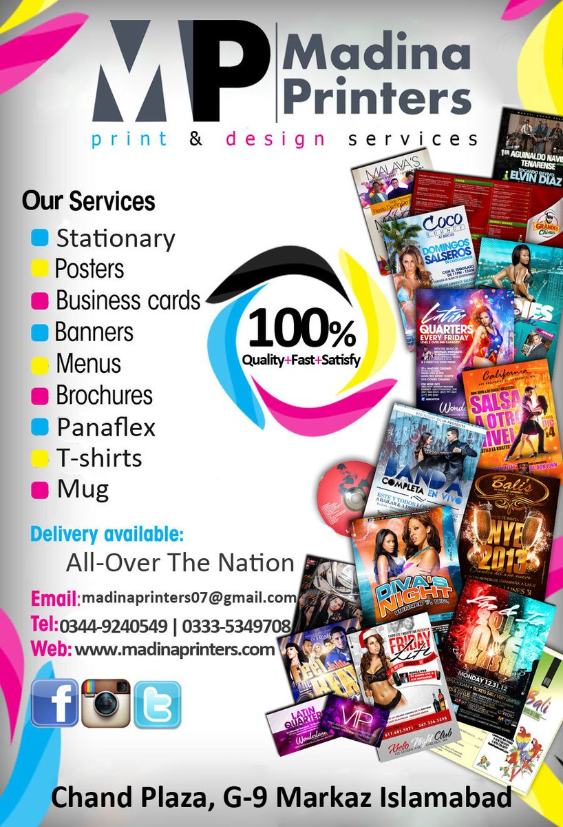 Madina Printers On Twitter Business Advertisement By Us We