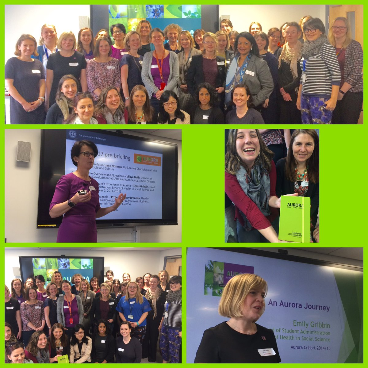 Absolute privilege to be here @EdinburghUni #LFAurora launch - officially largest cohort &amp; have previewed new &#39;secret&#39; addition 1st #LFLead <br>http://pic.twitter.com/2Rxh8mjATB