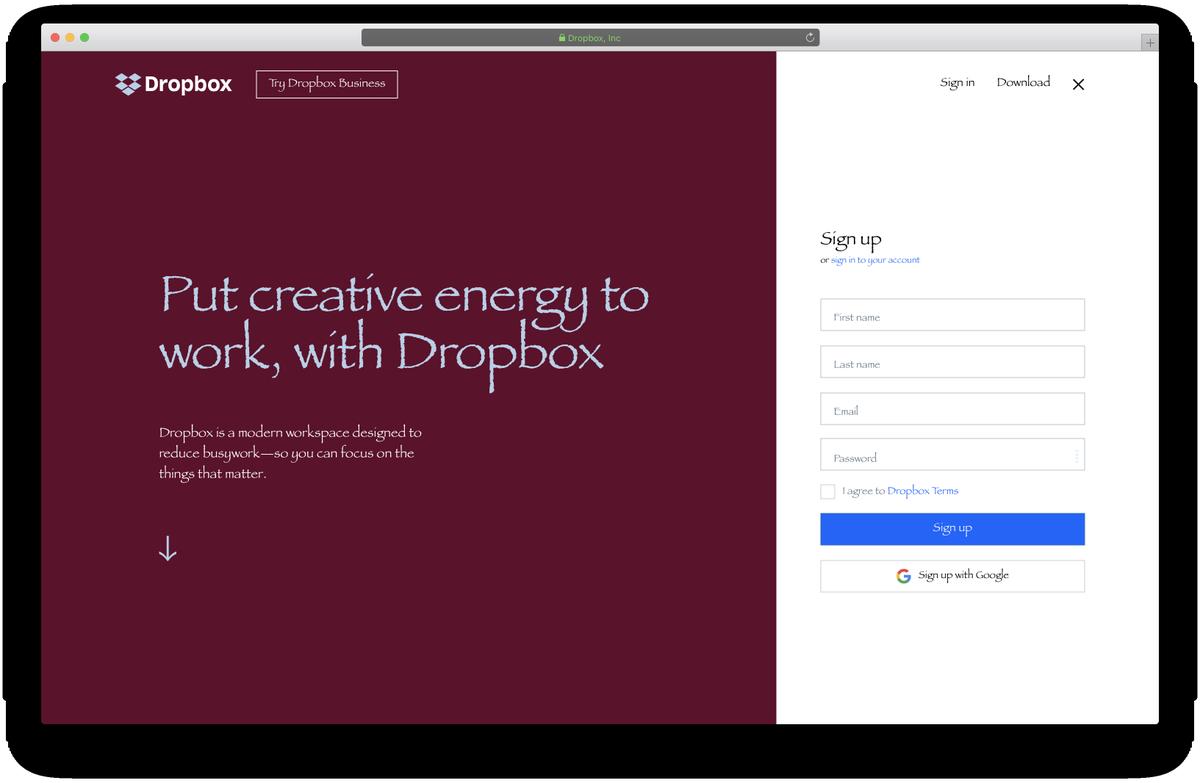 New Dropbox Brand – Designer News