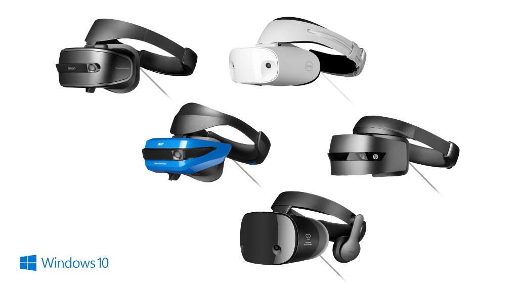immerse yourself in a new reality windowsmr headsets available for preorder today