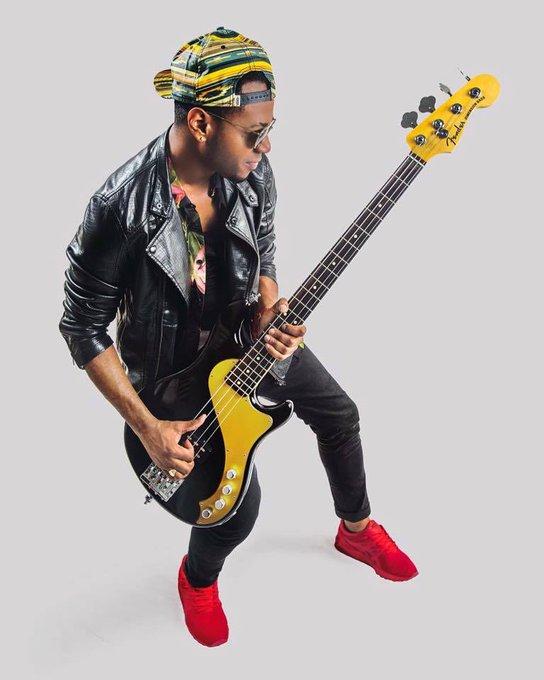"BassPlayerNow \""Happy Birthday to Jamareo \""Jam\"" Artis of Bruno Mars! jamareoartis BrunoMars"