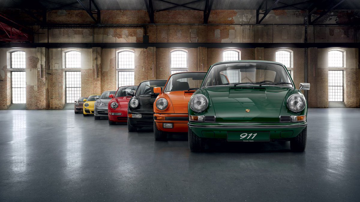 porsche on twitter 7 generations only one car the icon the