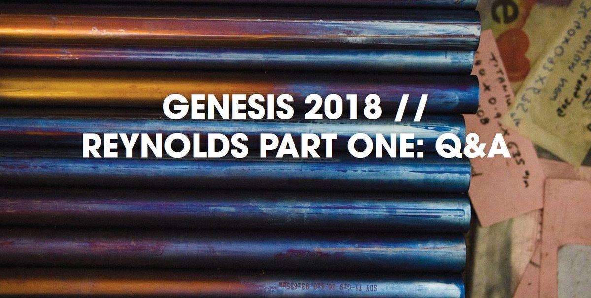 2018 genesis flyer.  genesis 1 reply 4 retweets 6 likes with 2018 genesis flyer