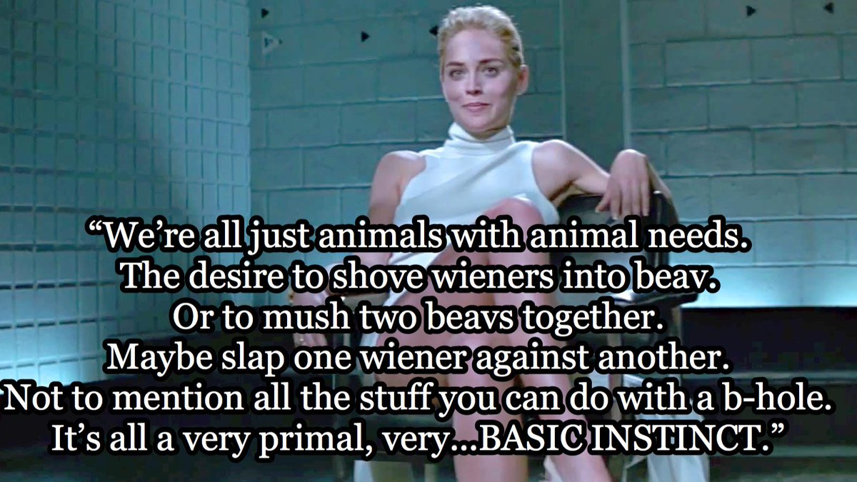 "Animal Instincts 1992 Video titular lines on twitter: ""basic instinct (1992)… """