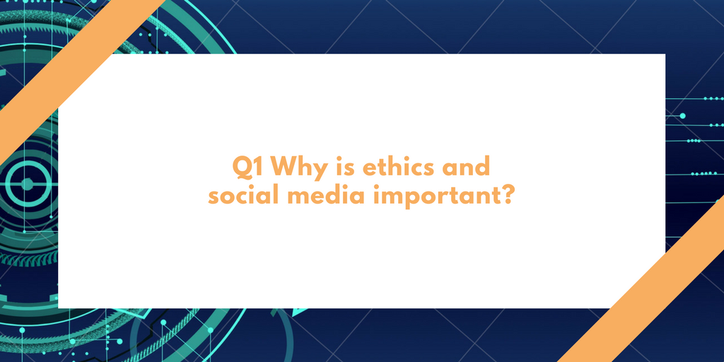 social media ethics A code of ethics for bloggers, content creators and social media participants based on the code of ethics for the norwegian press.