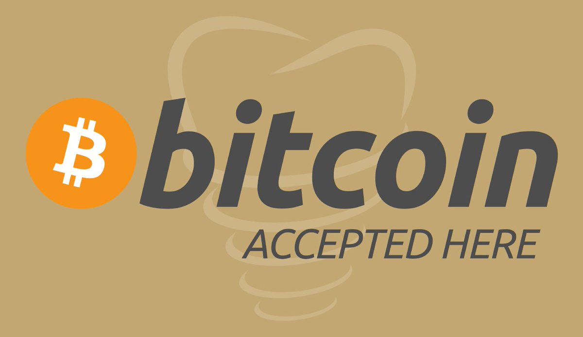Great news! We now accept Bitcoin as a payment option, the world's most widely used digital currency. #bitcoin #NowAccepting #DentalOffice<br>http://pic.twitter.com/44hX9XQ3WK