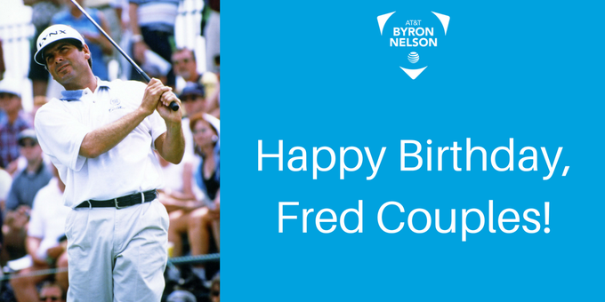 Happy birthday Fred Couples, our 1987 champion.