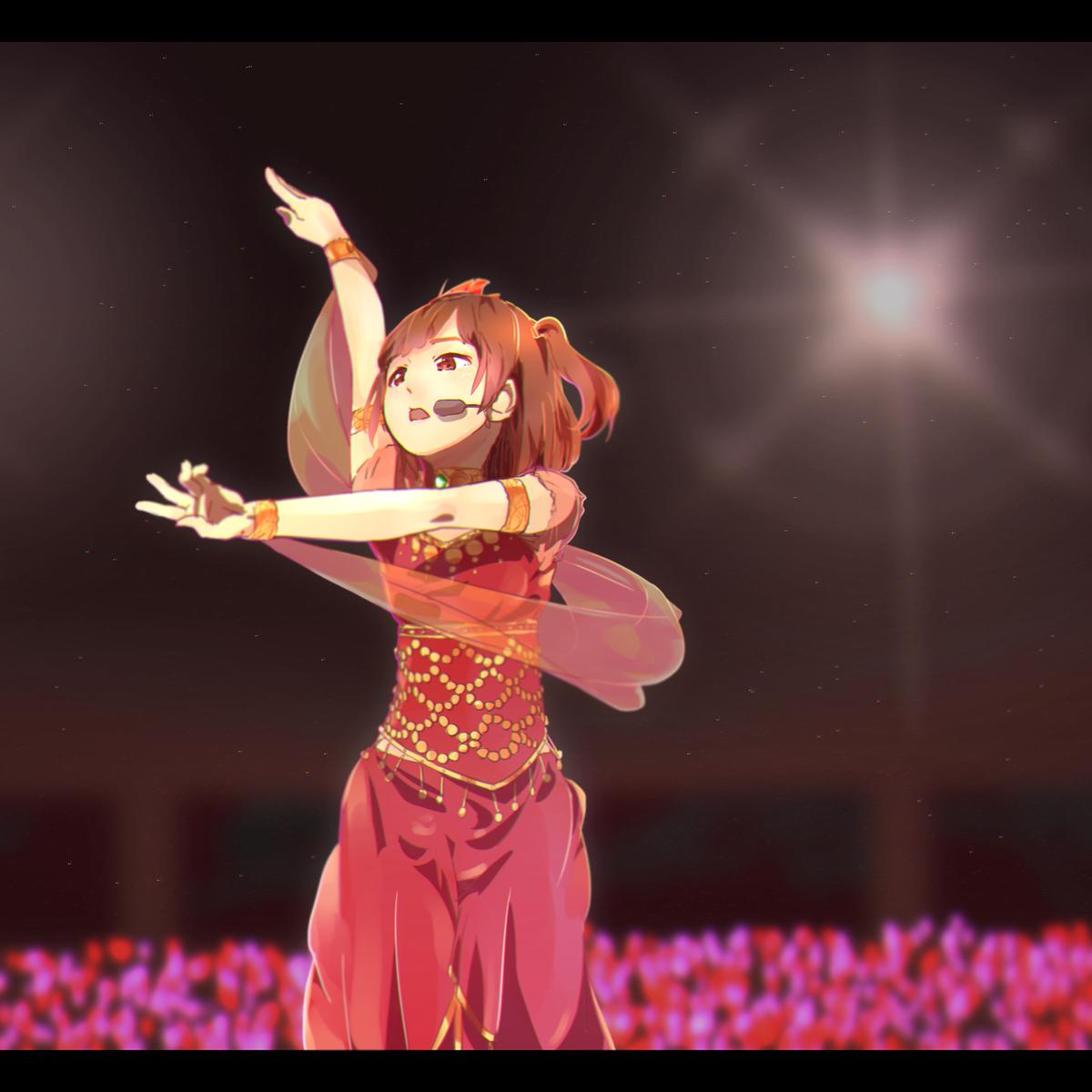 紅い太陽のドレスで踊る降幡さんが最高にカッコよかったです。。。 #Aqours2ndLoveLive