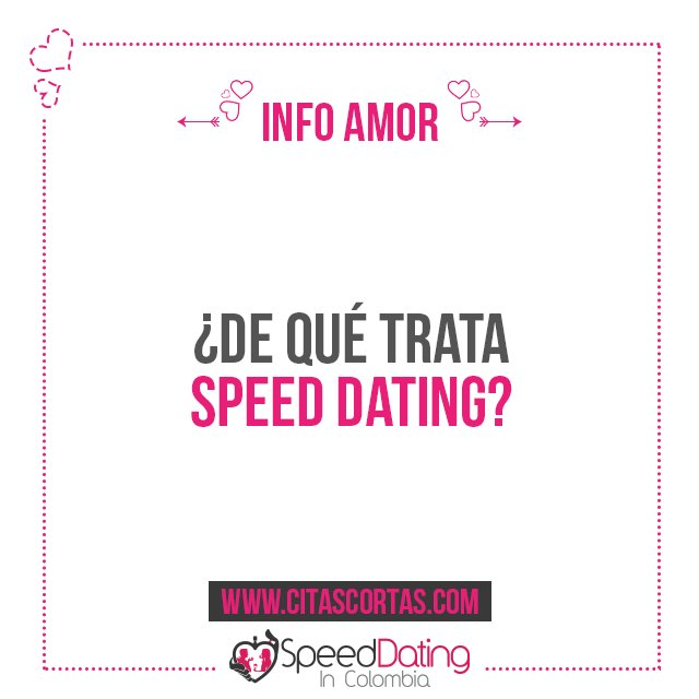 speed dating colombia