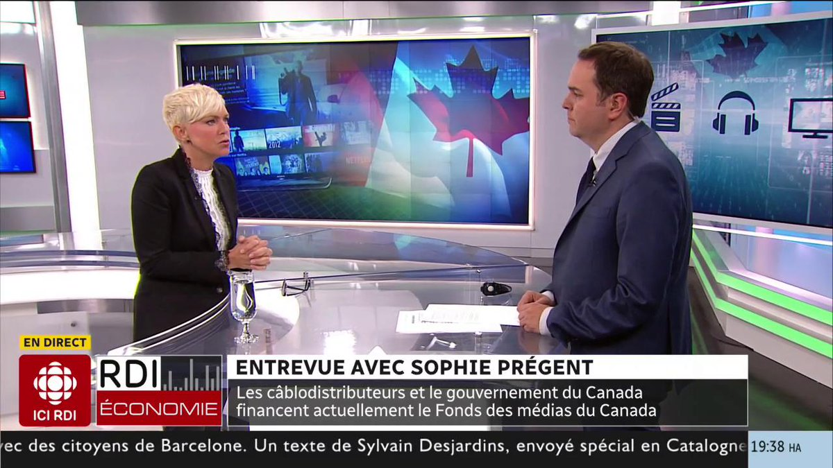 Dossier #Netflix : entrevue avec @Sophiepregent, présidente de l'Union des artistes (@udaquebec)