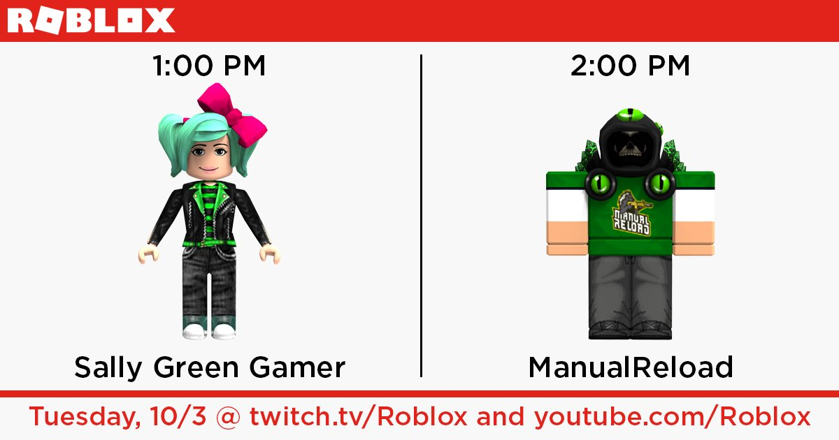 Roblox On Twitter Catch Roblox Guest Streams From Green