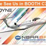 Please plan to visit us at NBAA Business Aviation Convention & Exposition next week!  Booth C7833!  https://t.co/Nx38IECiaZ